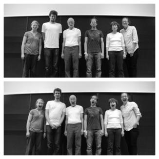 Bild: Gruppenbild der Theatergruppe